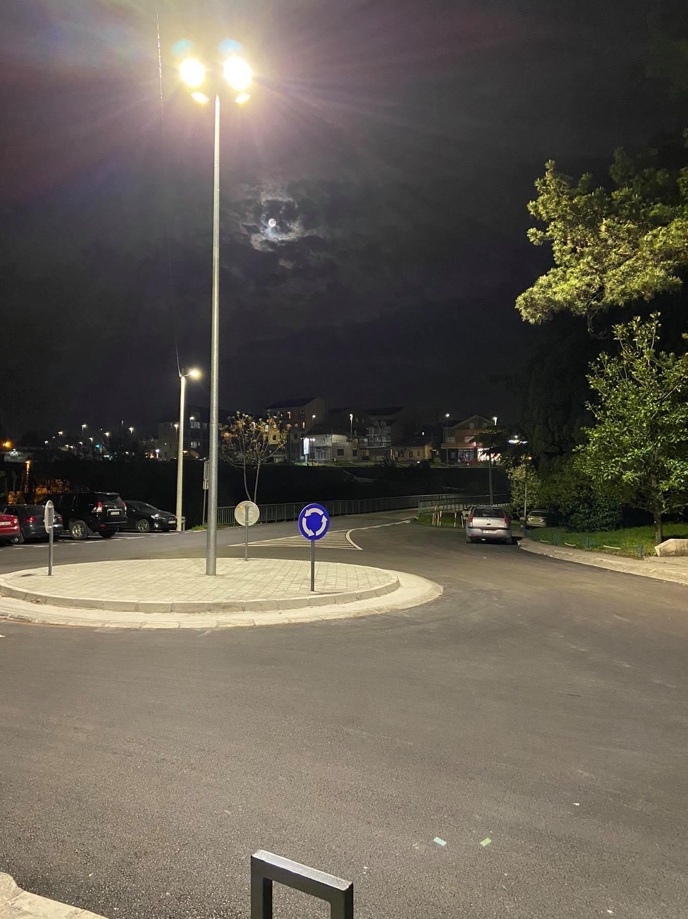 Nova rasvjeta u ulicama Marka Miljanova i Vuka Karadžića