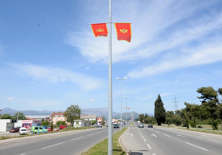 Povodom Dana nezavisnosti počelo kićenje Podgorice