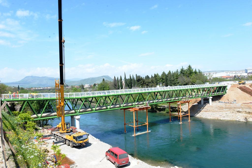Najava: Otvaranje pješačkog mosta na Morači