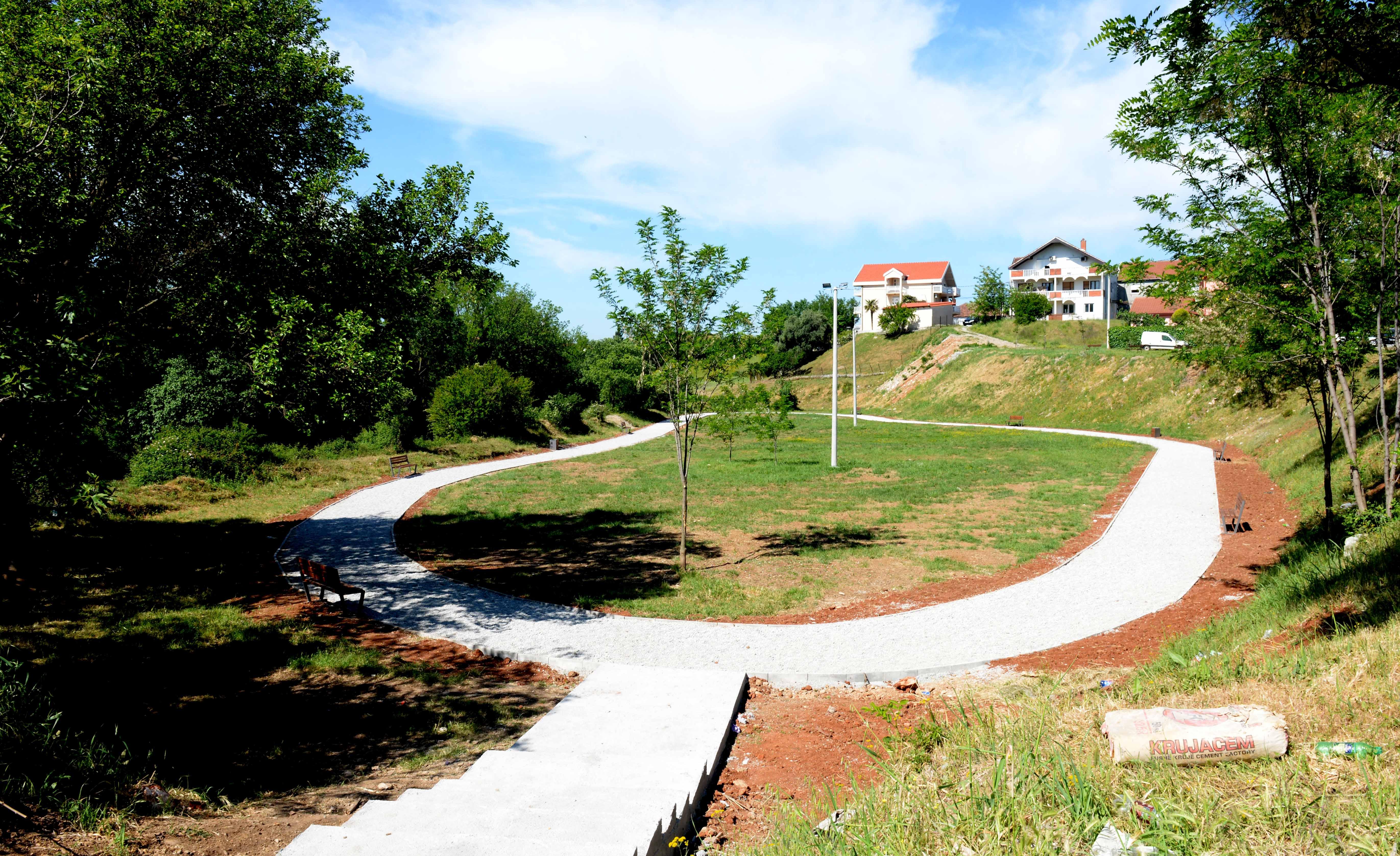 Završena izgradnja trim staze u Maslinama