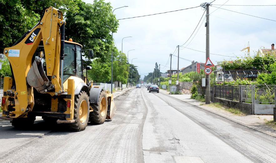 Počela rekonstrukcija Ulice SKOJ-a