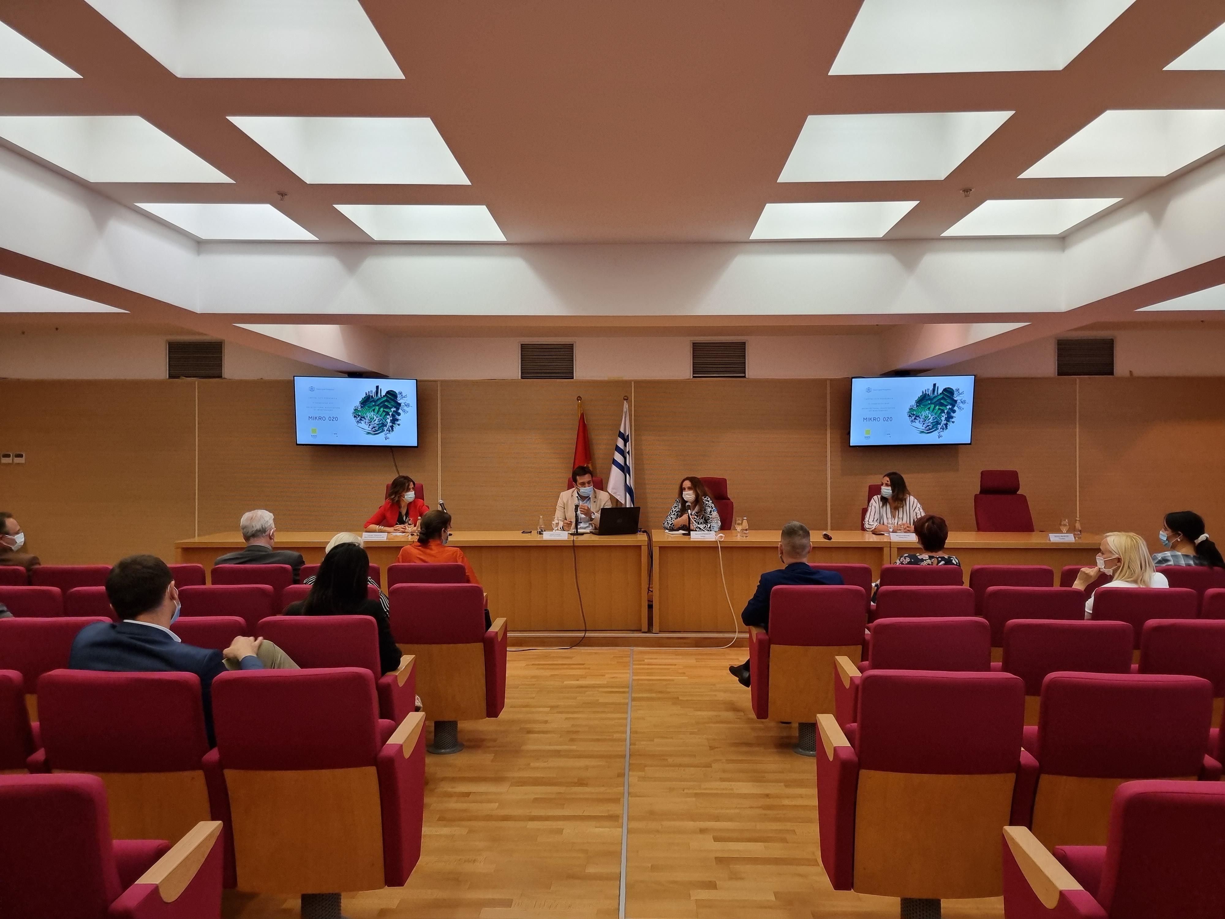 Projekat Mikro 020 prezentovan diplomatskim predstavnicima u Crnoj Gori