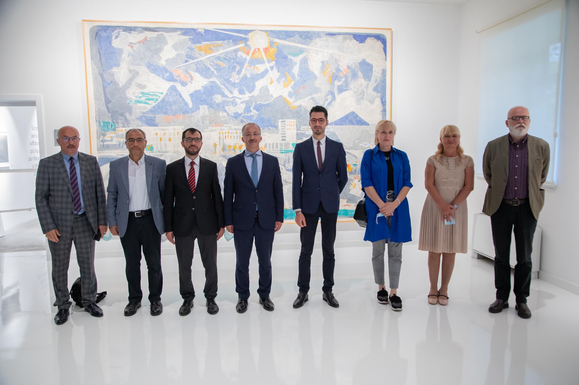 Delegacija Državnog arhiva Republike Turske u posjeti JU Muzeji i galerije Podgorica