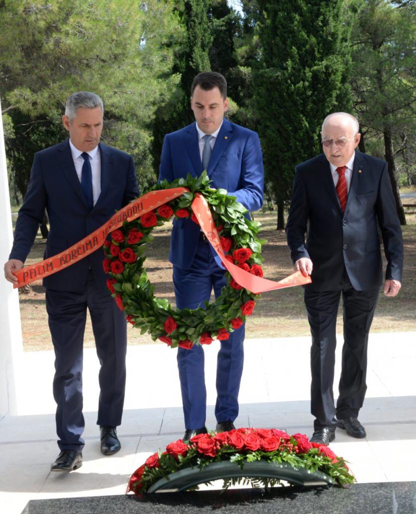 Najava:  Polaganje vijenaca na spomenik Partizanu borcu na Gorici