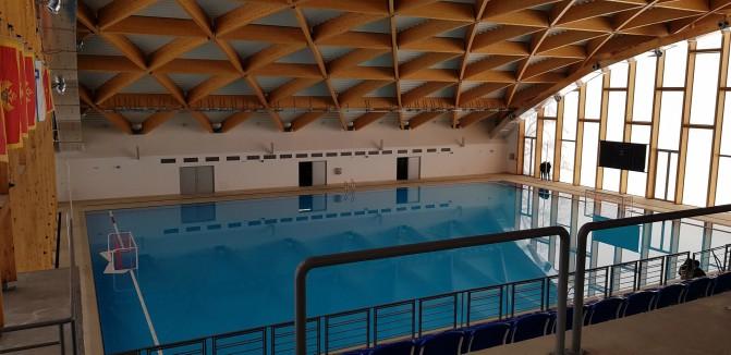 """Zatvoreni vaterpolo  bazenu sklopu Sportskogcentra """"Morača"""" od sjutra ponovo u funkciji"""