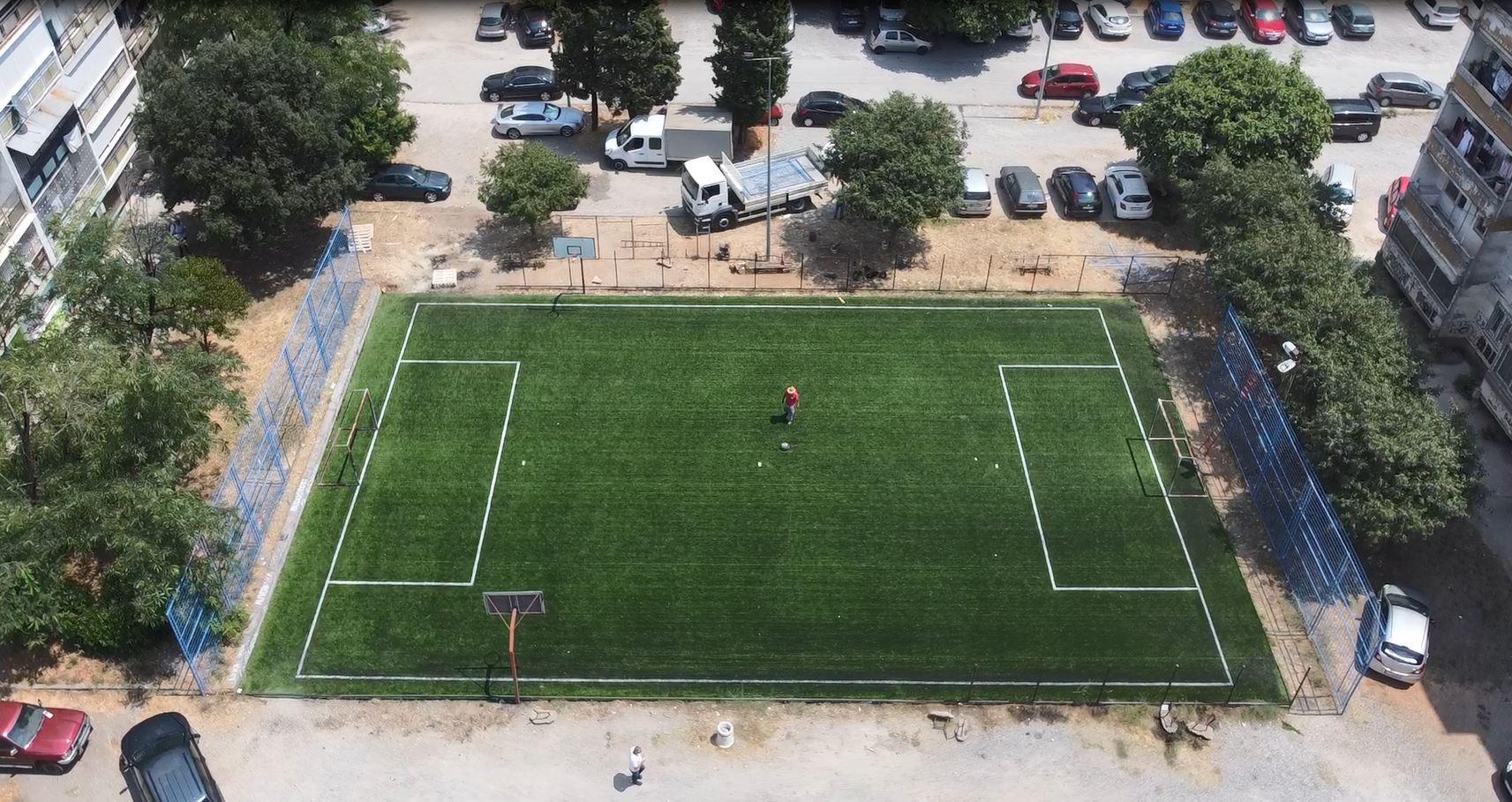Glavni grad nastavlja da ulaže u sportsku infrastrukturu; Obnovljeni sportski poligoni na nekoliko lokacija