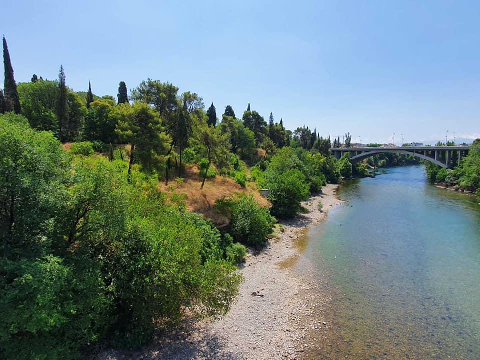 Obilježavanje početka radova na izgradnji šetališta uz Moraču, od plaže Labud do Sastavaka, i na adaptaciji Njegoševog parka