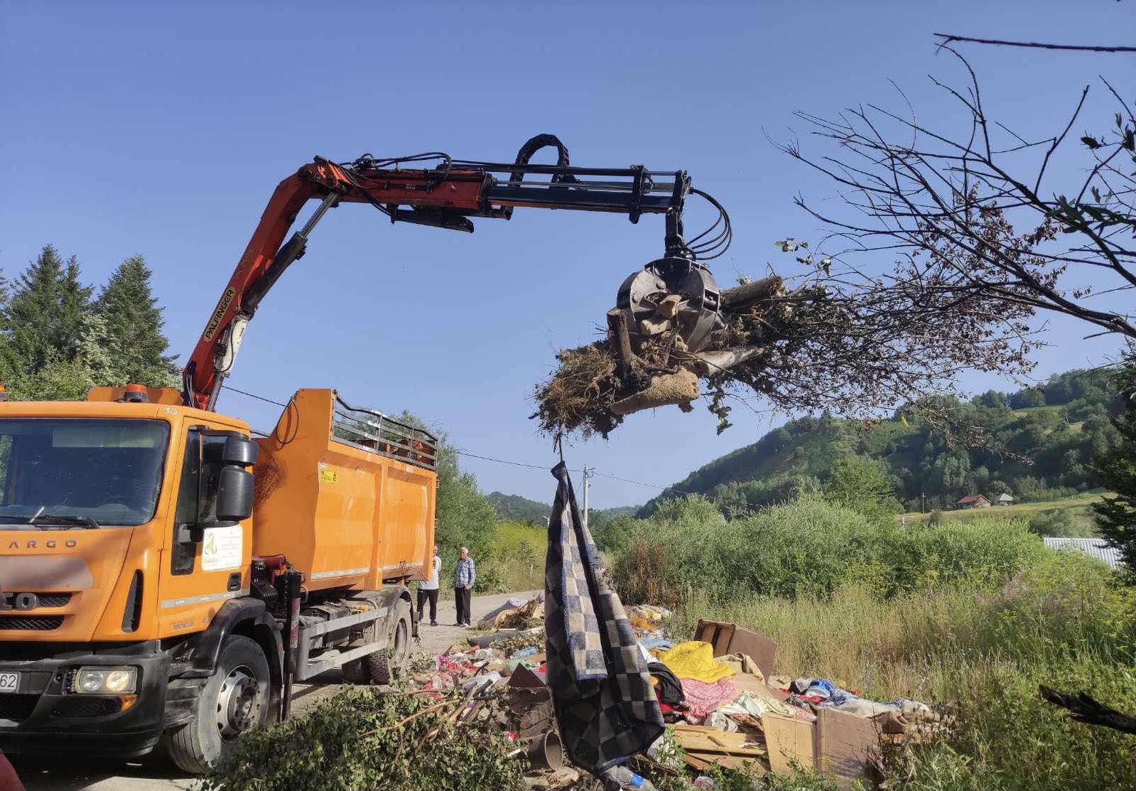 Ekipe Čistoće u akciji čišćenja na Veruši