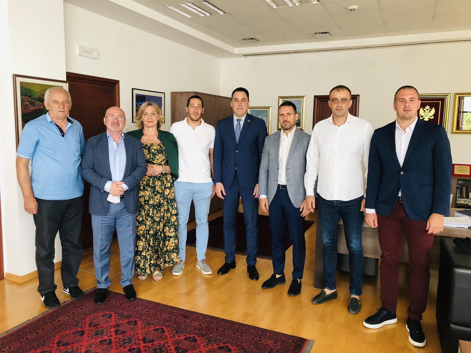 """Glavni grad će podržati dalji razvoj muškog Rukometnog kluba """"Budućnost"""""""