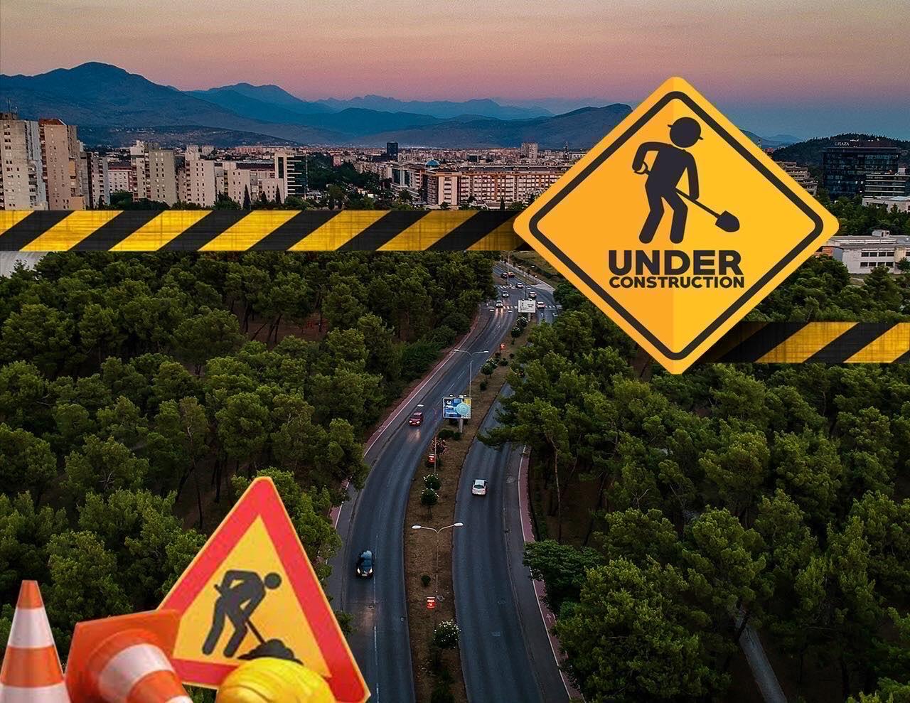 Zabrana saobraćaja na dijelu ulica Valtazara Bogišića i Žarka Zrenjanina