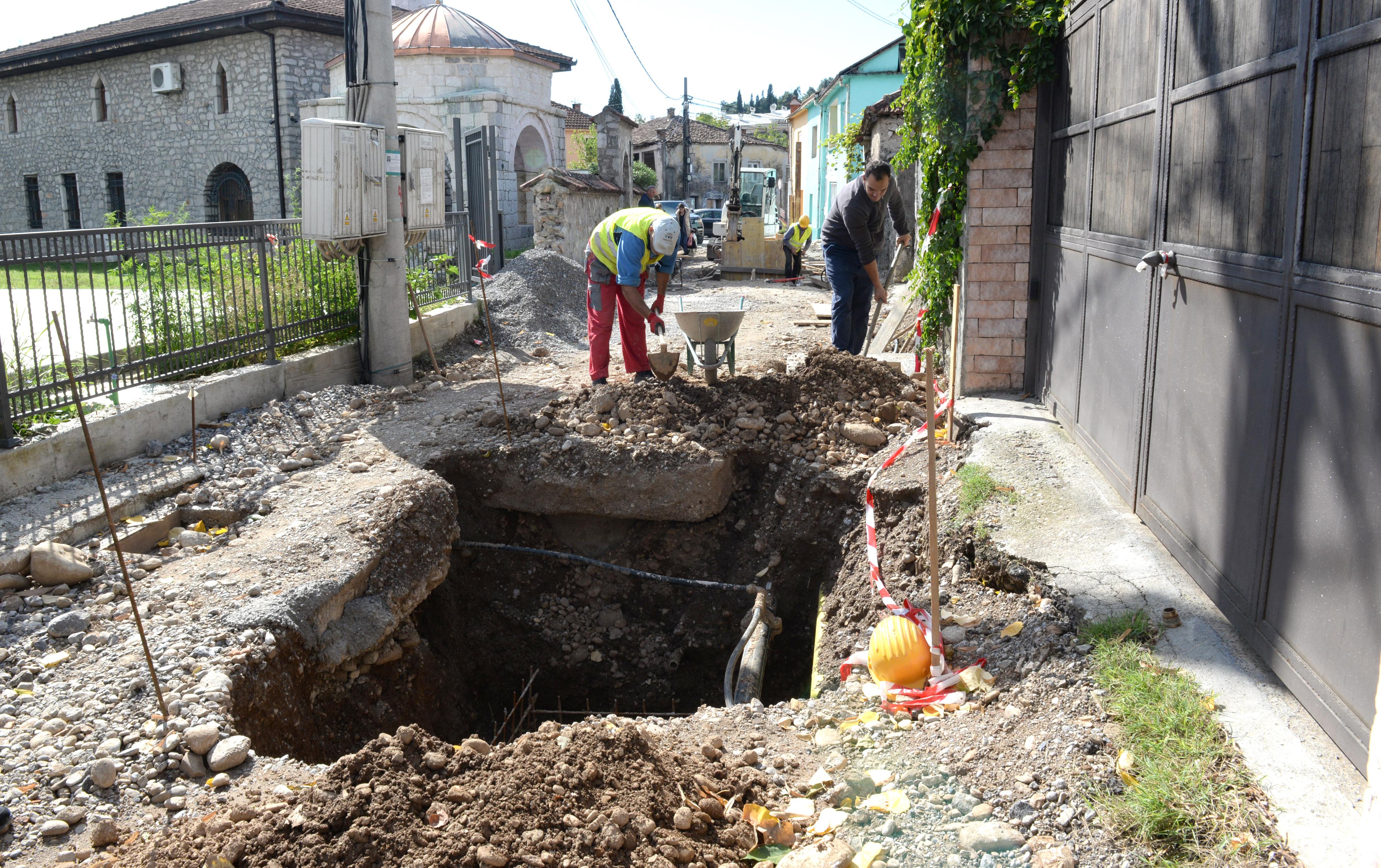 Intenzivirani radovi na rekonstrukciji dvije ulice u Staroj varoši