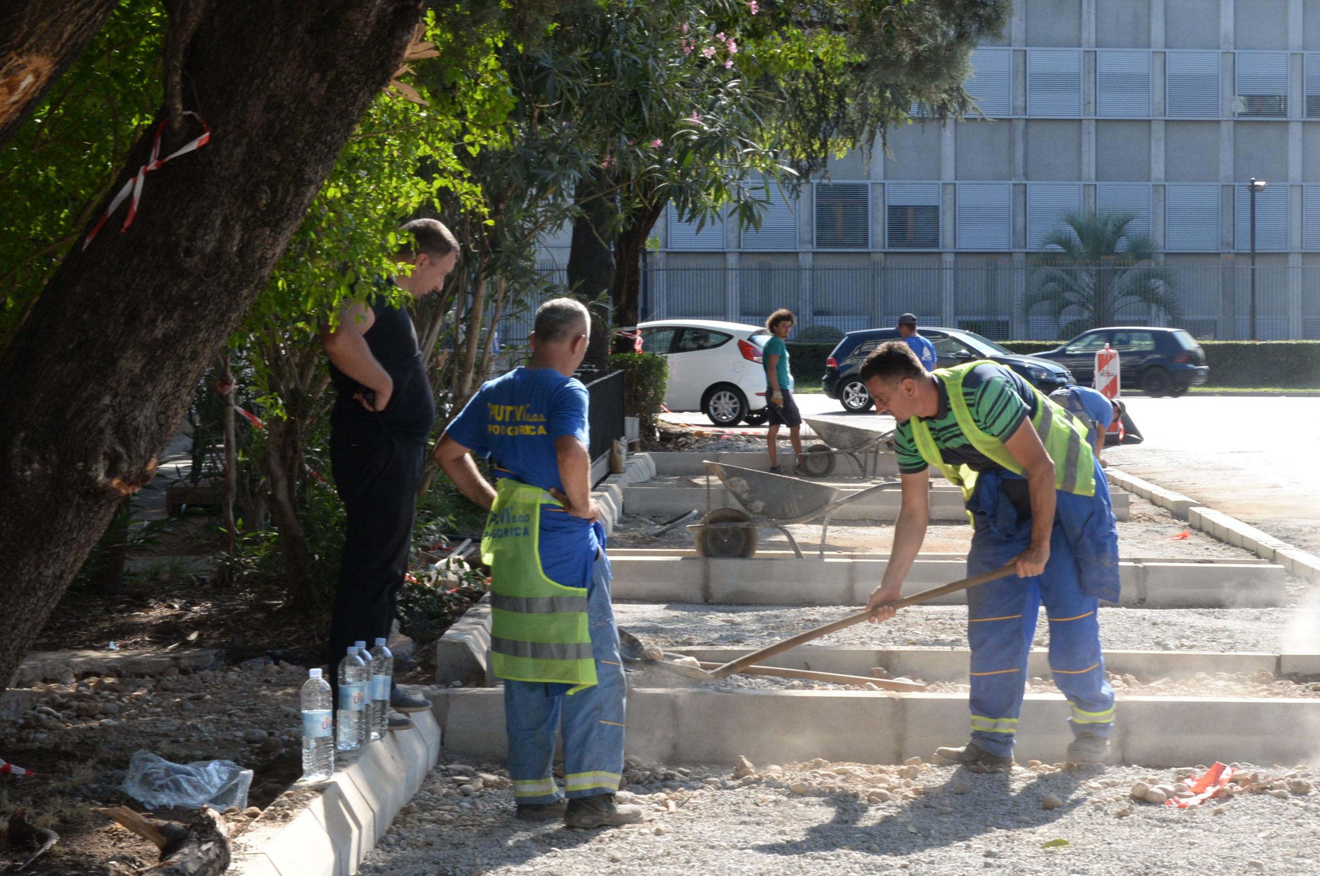 Radovi na rekonstrukciji Ulice Ivana Vujoševića teku planiranom dinamikom
