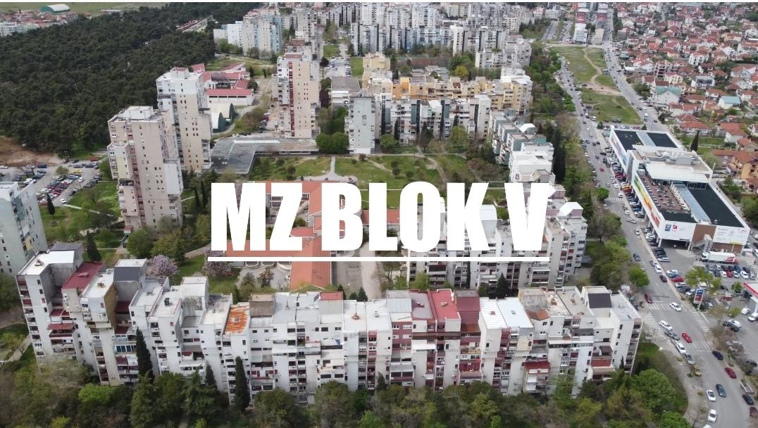 """Predstavnici Glavnog grada sjutra sa stanovnicima MZ """"Blok V""""; Zajedno razvijamo svaki dio Podgorice"""
