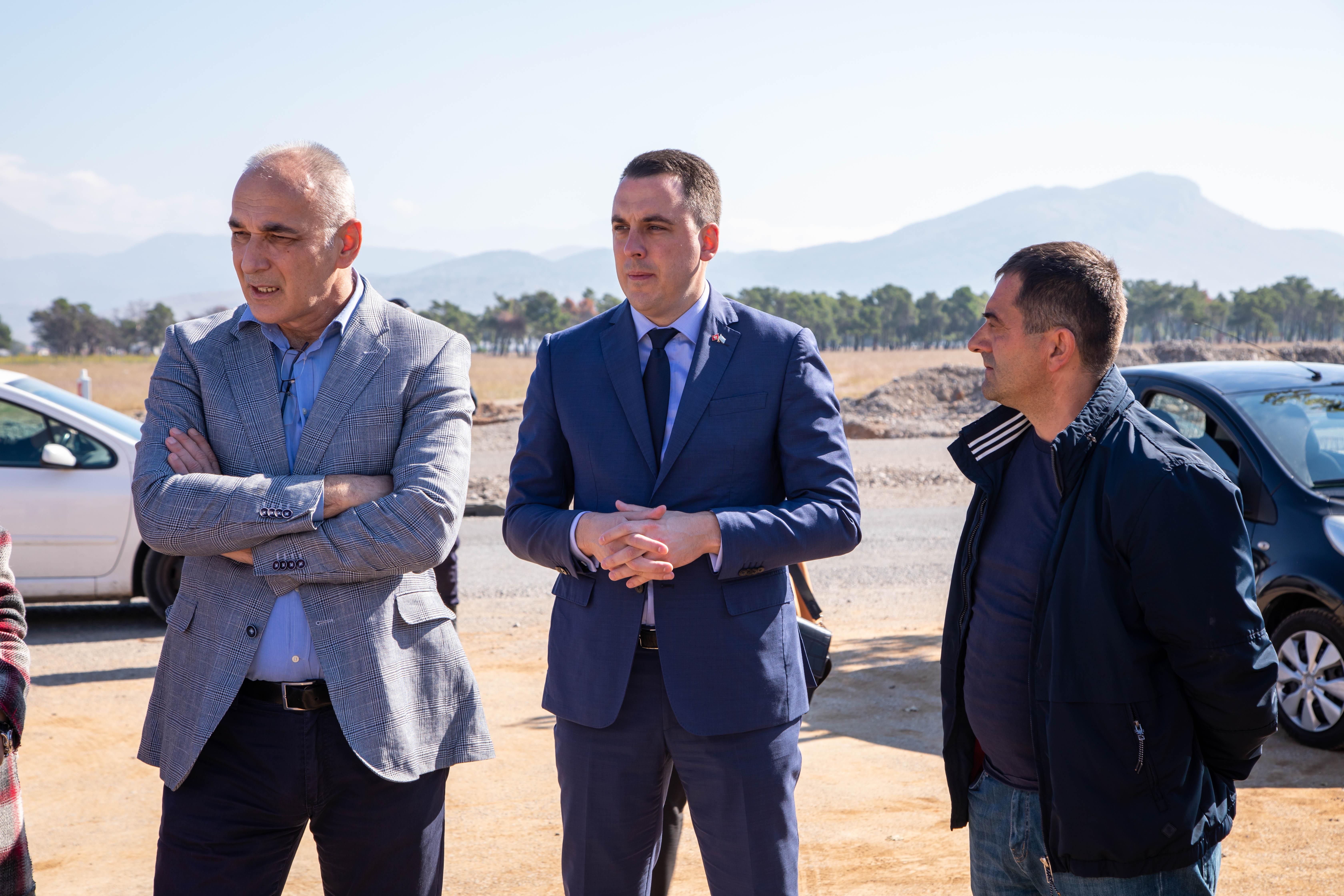 Zbog neodgovornog odnosa Vlade Crne Gore, kasni izgradnja bulevara na Starom aerodromu; Vuković ponovo uputio urgenciju nadležnom državnom organu