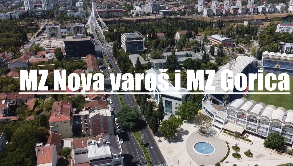 """Predstavnici Glavnog grada sjutra sa stanovnicima MZ """"Nova varoš"""" i MZ """"Gorica"""""""