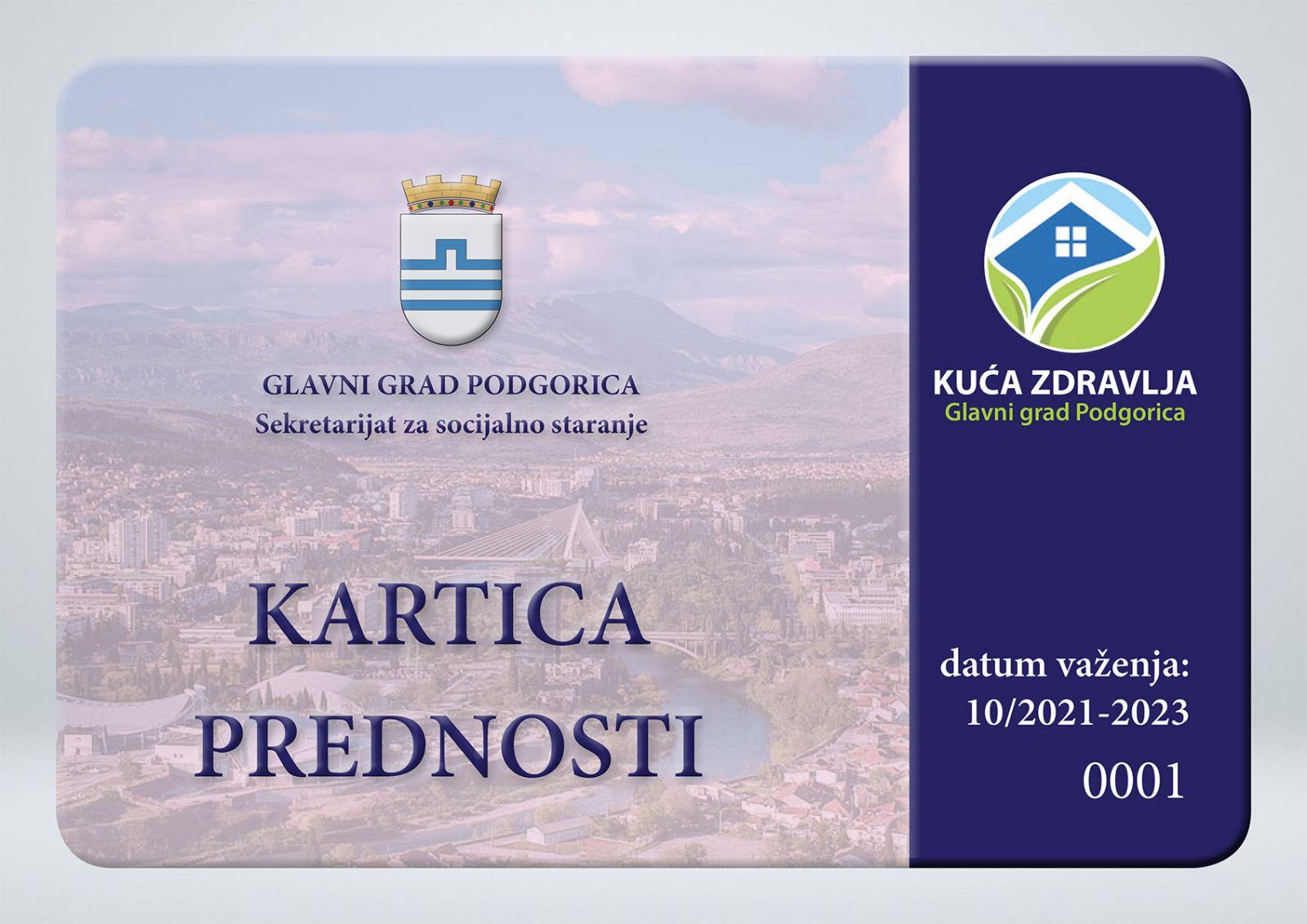 Novi socijalni servis Glavnog grada: Kartica prednosti od sjutra dostupna građanima