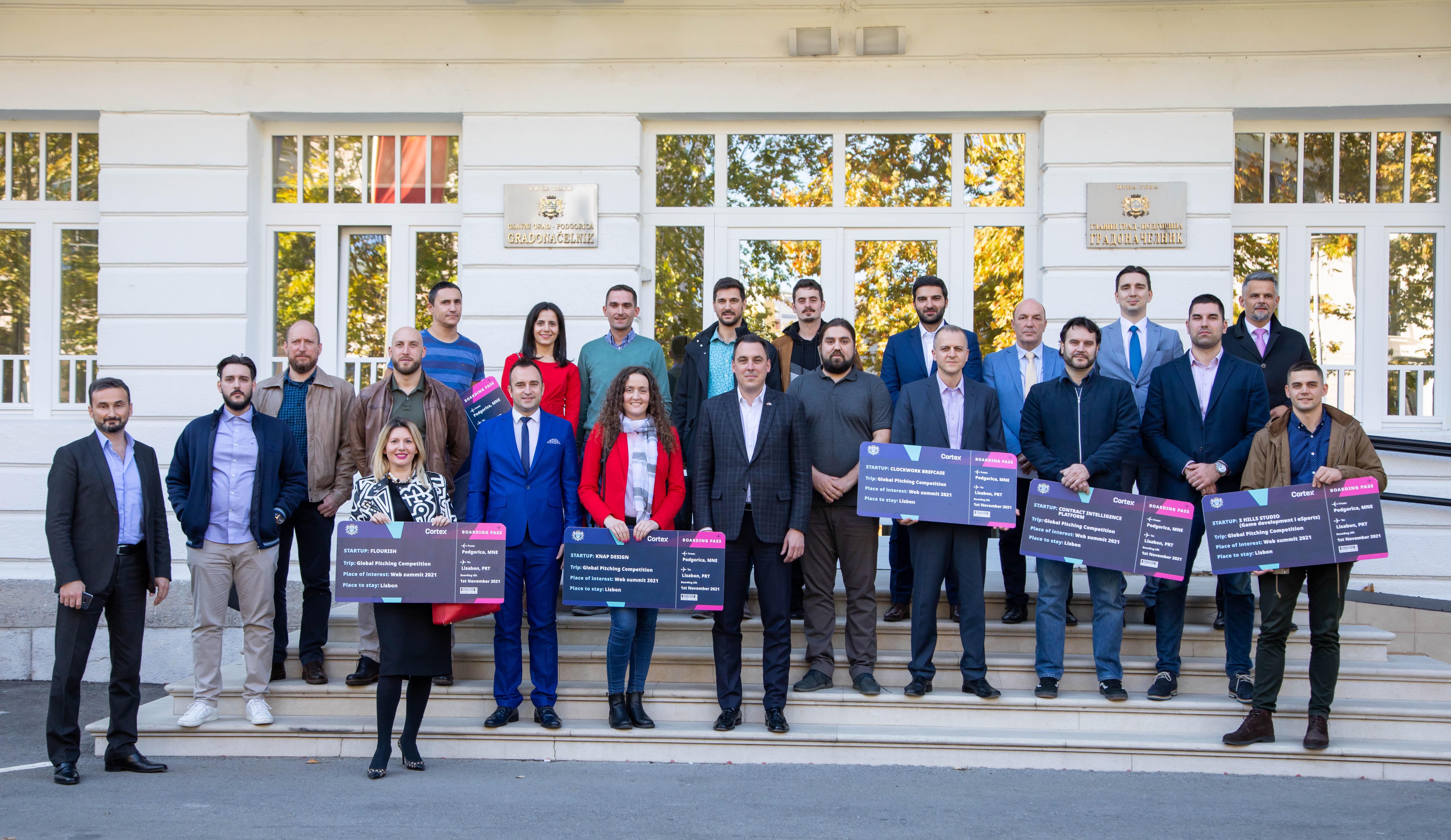 Glavni grad i ICT klaster Cortex podržali sedam Start Up-ova koji će se predstaviti na jednoj od najvećih tehnoloških konferencija na svijetu