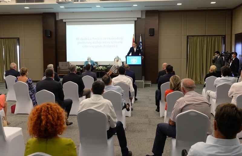 Poslovni savjet održao treću sjednicu: Paketi mjera Vlade i Glavnog grada najefikasniji odgovor na negativne posljedice koronavirusa
