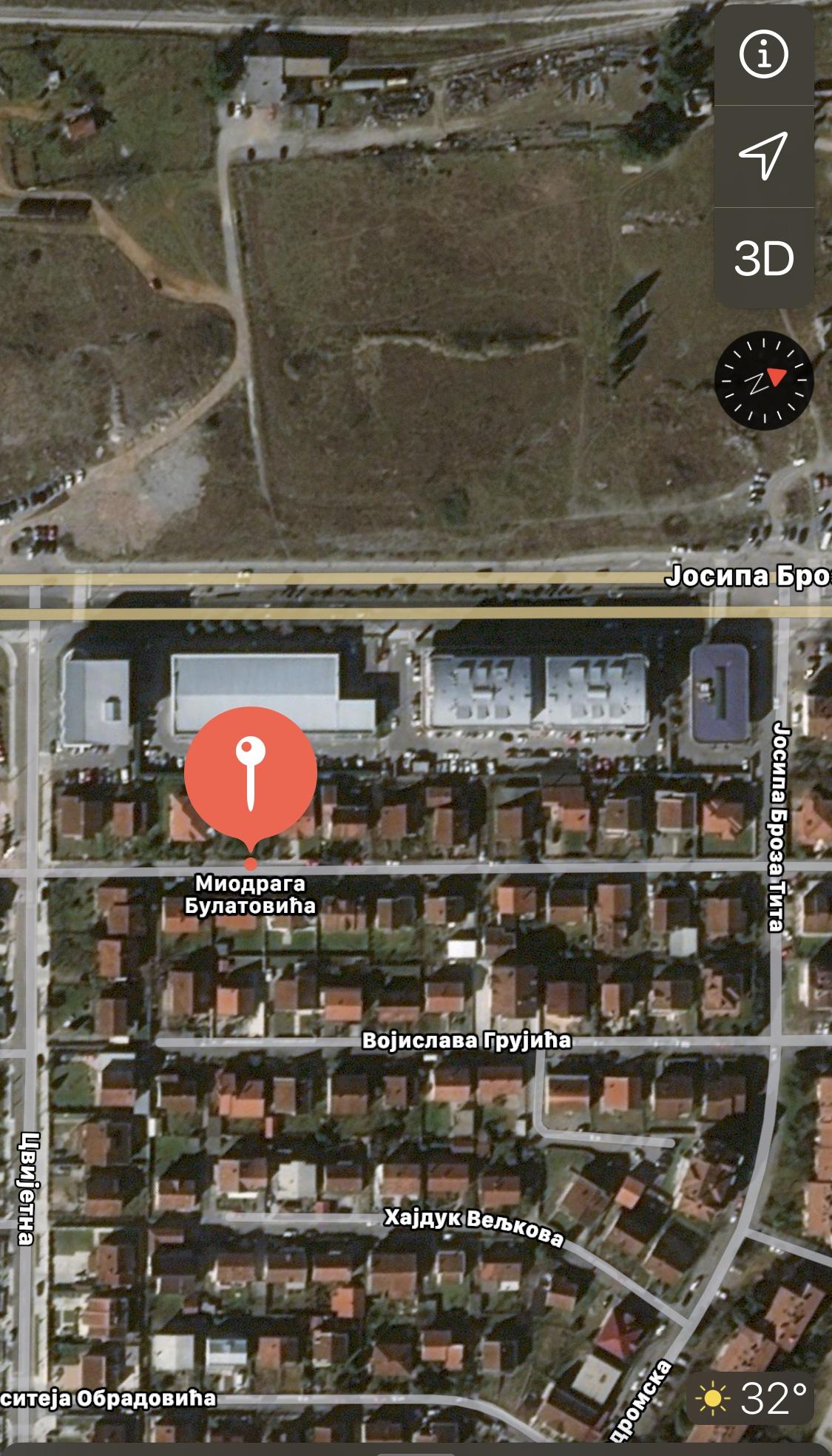 Uskoro počinje rekonstrukcija drugog dijela Ulice Miodraga Bulatovića na Starom aerodromu