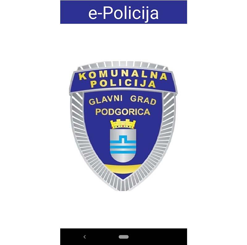 """Upotrebom aplikacije """"e-Policija"""" operativniji rad Komunalne policije Glavnog grada na terenu"""