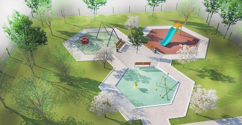 Započeti radovi na izgradnji dječijeg igrališta u Danilovgradu; Poklon Glavnog grada djeci opštine Danilovgrad