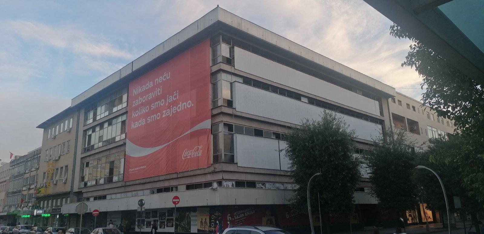 Prodaja Robne kuće oživjeće centar Podgorice i otvoriti nova radna mjesta