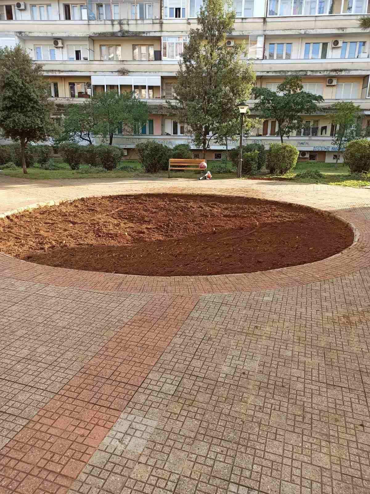 Počelo uređenje zelene površine u Ulici Arhitekte Milana Popovića