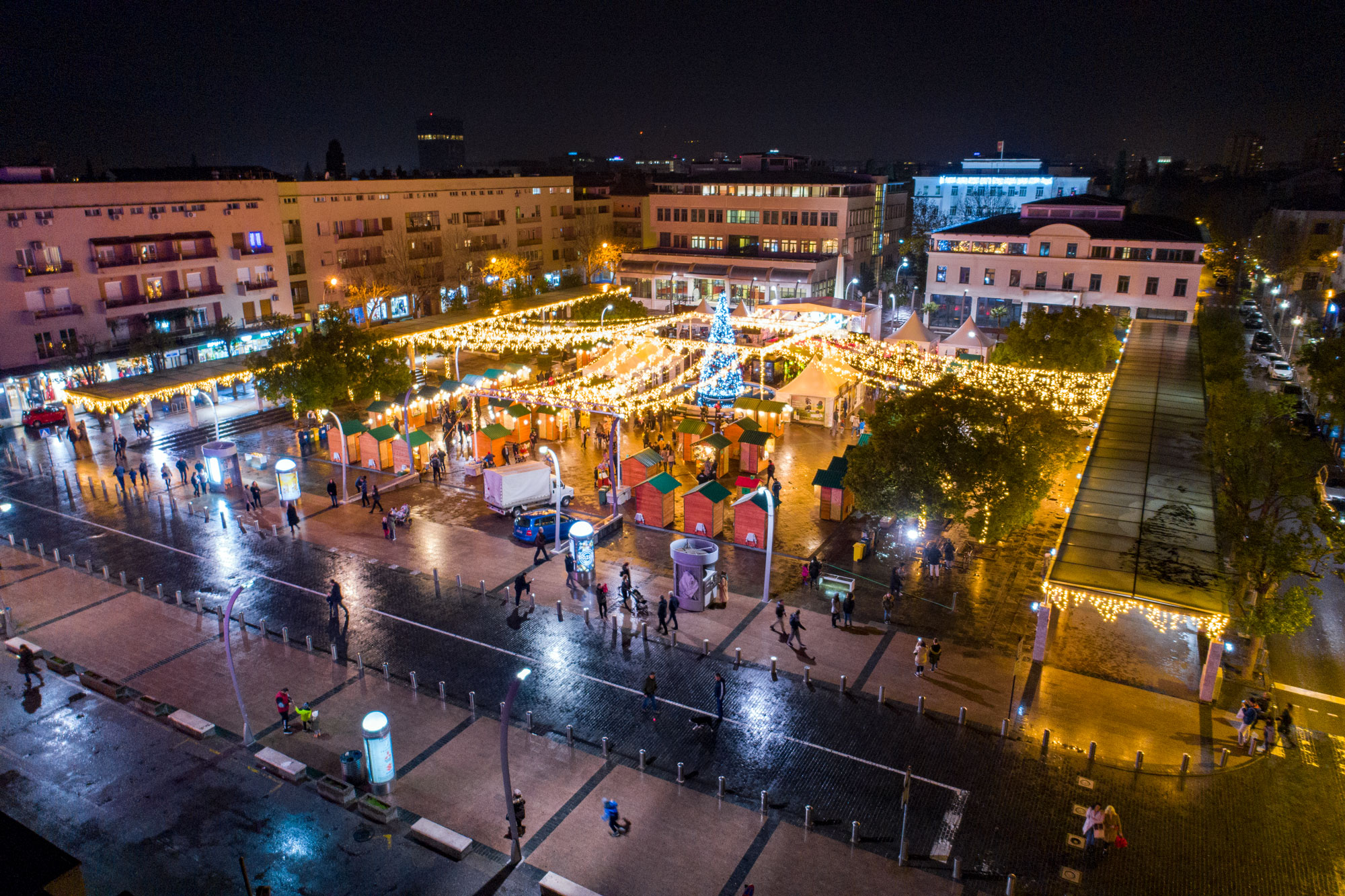 Glavni grad i ove godine planira da organizuje proslavu novogodišnjih praznika na Trgu nezavisnosti