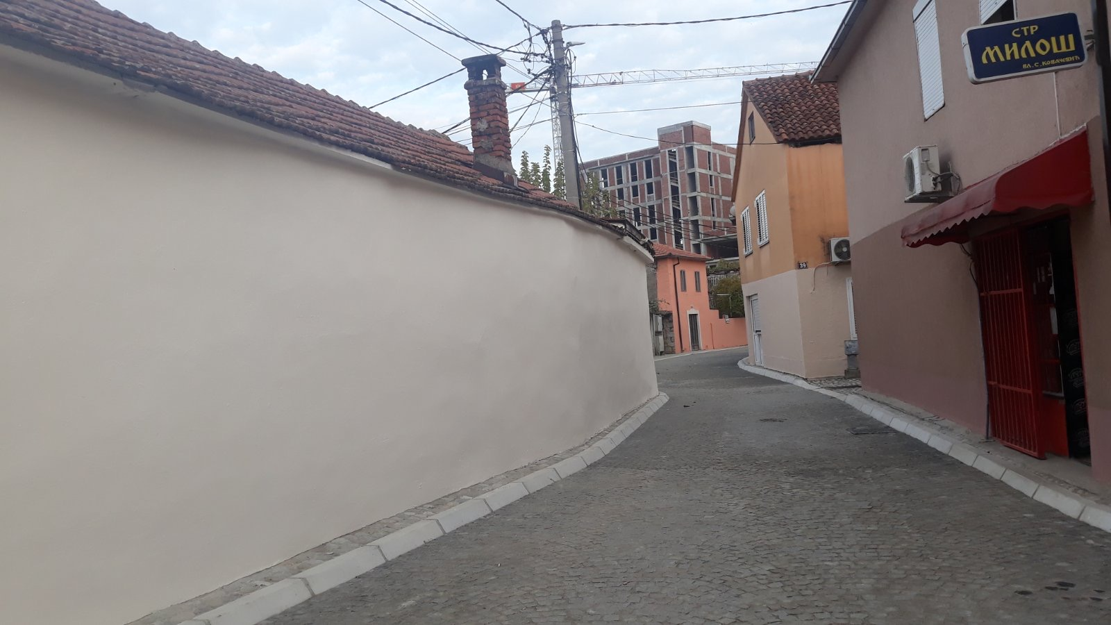 Obilazak dijela rekonstruisane Ulice Gojka Radonjića u Staroj varoši