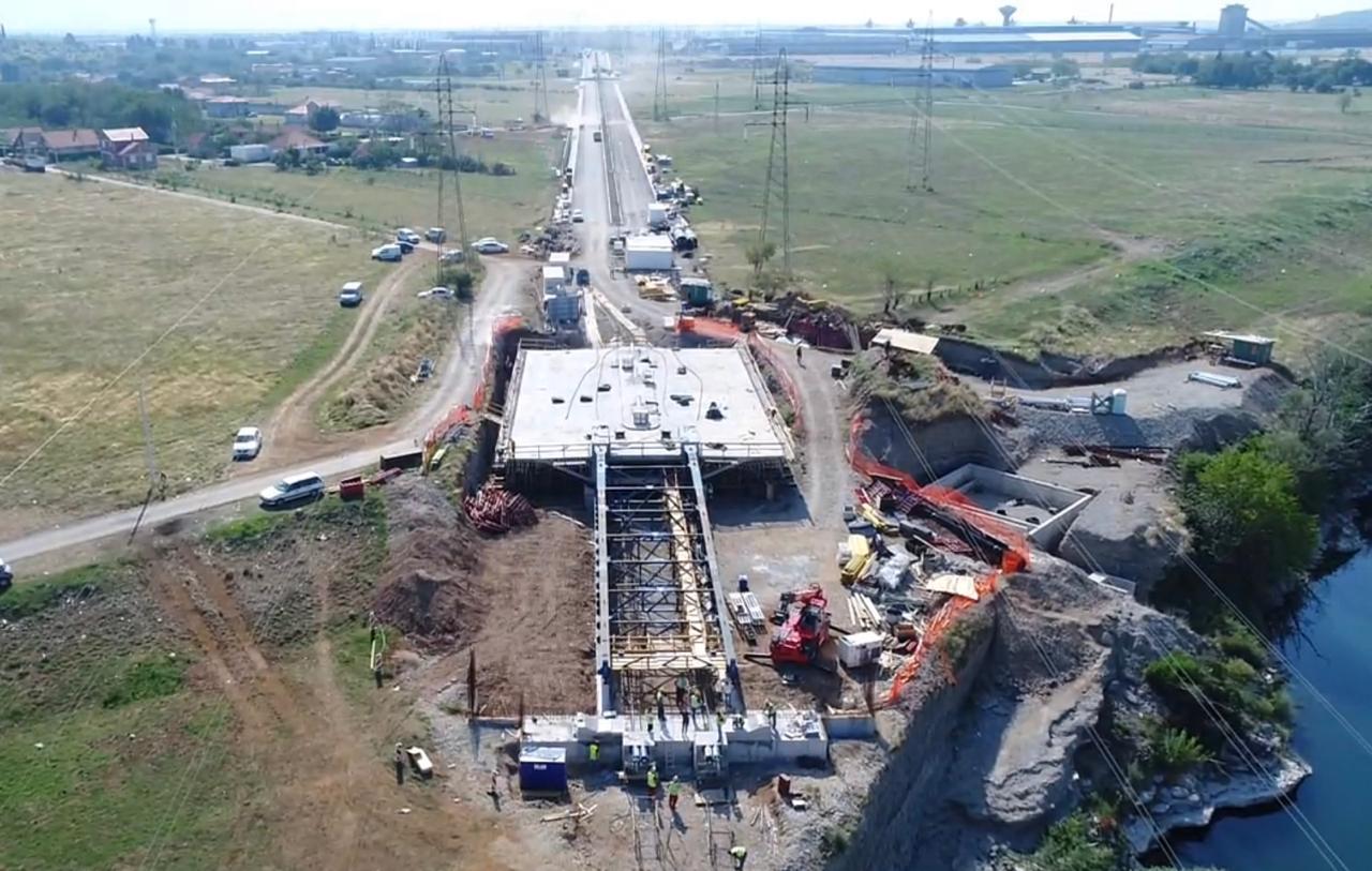 Obilazak radova na izgradnji mosta na Jugozapadnoj obilaznici