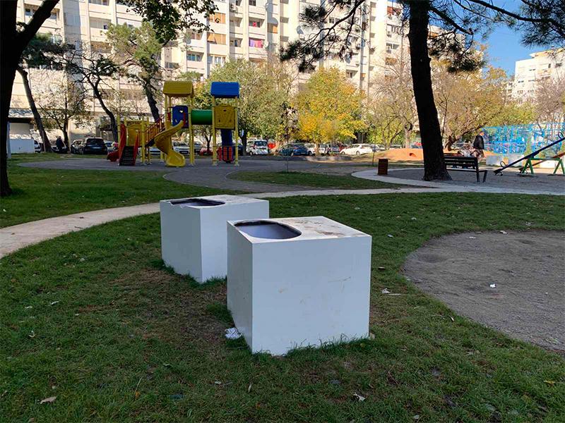Zbog prinudne obustave video nadzora, igrališta na teritoriji Podgorice ponovo na meti vandala