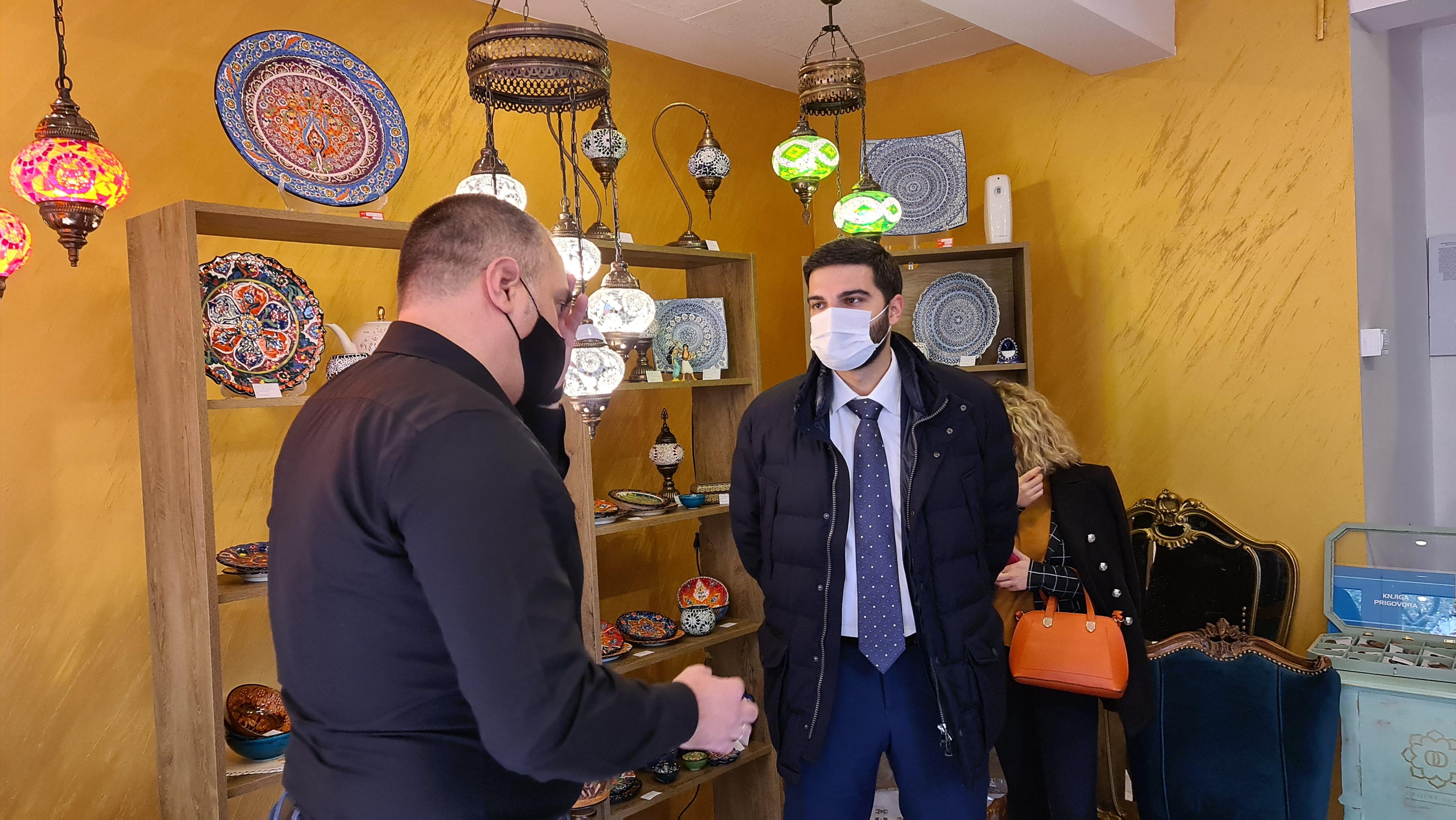 Uz podršku Glavnog grada otvorena prva radnja orijentalnih suvenira  u Staroj Varoši