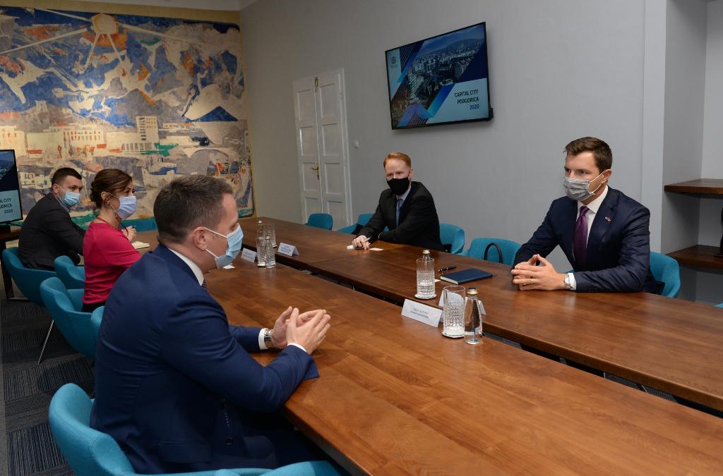 Podgorica nudi povoljan ambijent za ulaganje američkih kompanija i investitora
