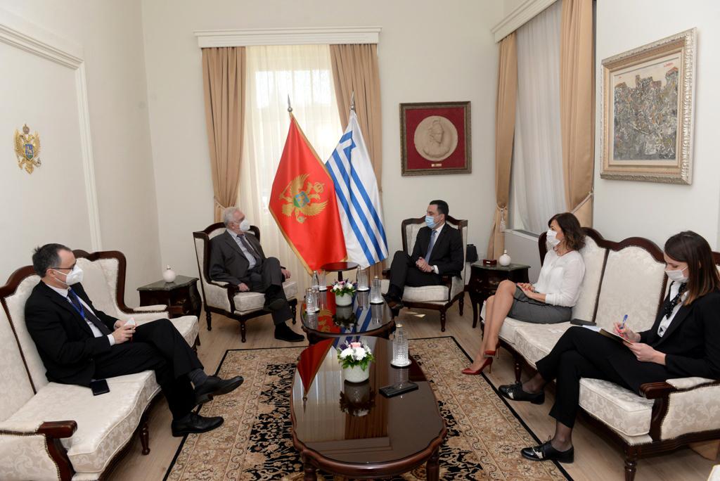 Novi ambasador Rumunije u posjeti Glavnom gradu:  Dogovoreno intenziviranje ekonomske saradnje Podgorice i rumunskih gradova