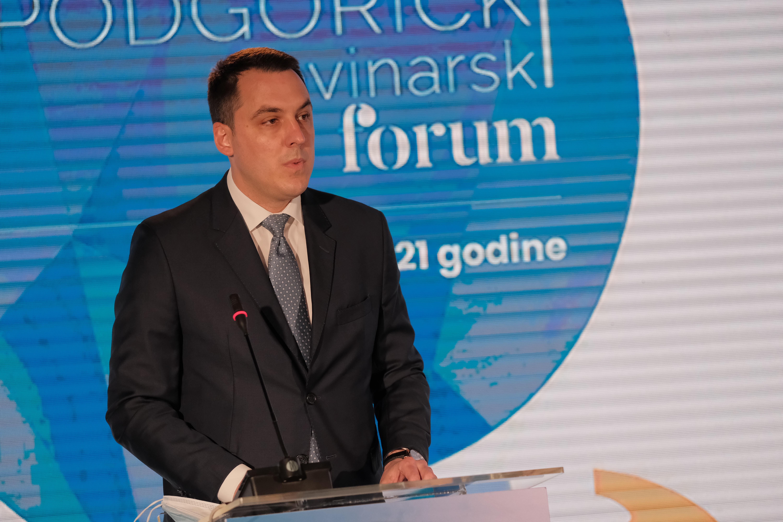 Gradonačelnik Vuković otvorio V Podgorički novinarski forum