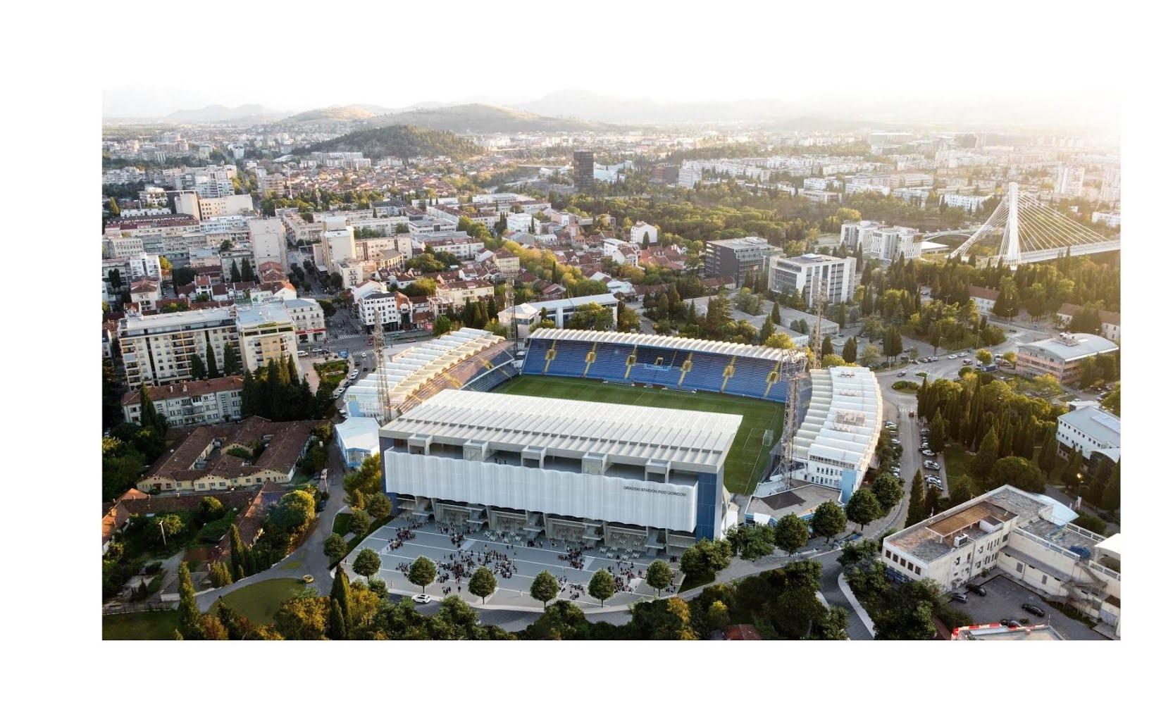Korak bliže izgradnji Istočne tribine Gradskog stadiona; Objavljen javni poziv za izradu Glavnog projekta;