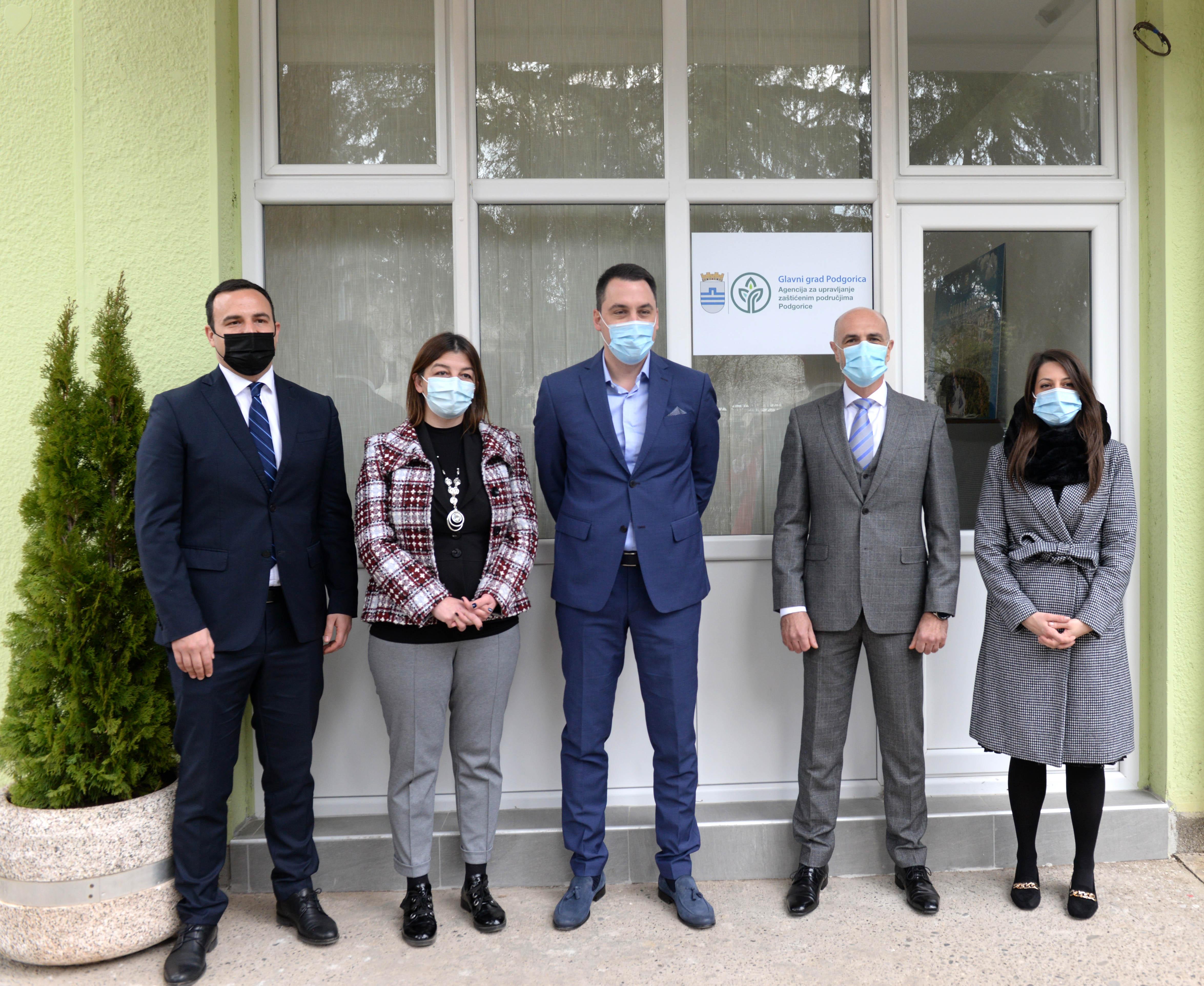 Gradonačelnik Vuković obišao Agenciju za upravljanje zaštićenim područjima Podgorice; Glavni grad uskoro dobija rendžersku službu