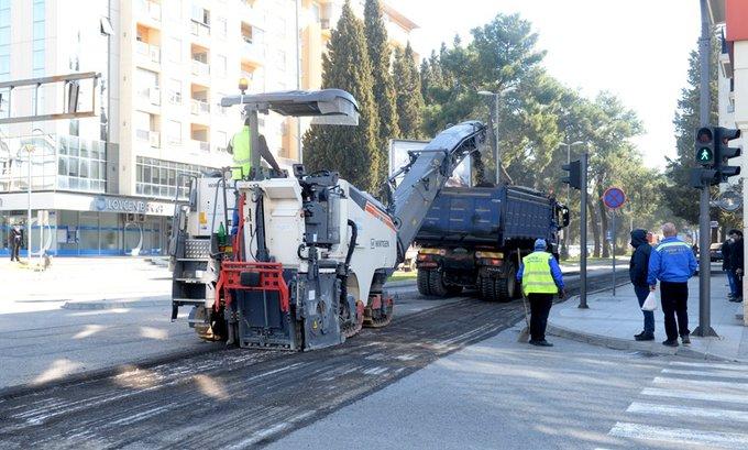 Najava: Obilazak završenih radova na rekonstrukciji Bulevara Ivana Crnojevića